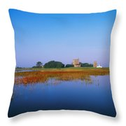 Ladys Island, Co Wexford, Ireland Throw Pillow by The Irish Image Collection