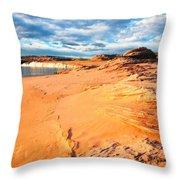 Lake Powell Serenity Throw Pillow by Thomas R Fletcher