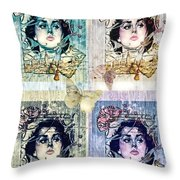 Languissant Throw Pillow by Mo T
