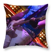 Laying It Down Throw Pillow by Bob Christopher