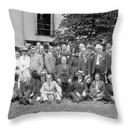 League To Enforce Peace Throw Pillow by Granger