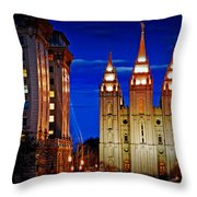 Let Your Light Shine Throw Pillow by La Rae  Roberts