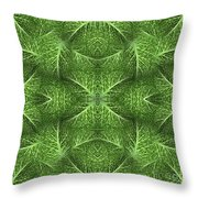 Lettuce Live Green  Throw Pillow by Sue Duda