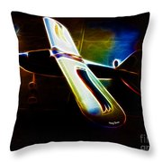 Lil Plane Throw Pillow by Cheryl Young