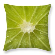 Limelight Throw Pillow by Luke Moore