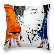 Lin  Throw Pillow by Patrick Ficklin