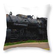Loc 1518 In Paducah Ky Throw Pillow by Susanne Van Hulst