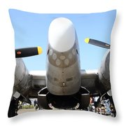 Lockheed Pv-2 Harpoon Military Aircraft . 7d15824 Throw Pillow by Wingsdomain Art and Photography