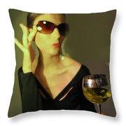 Loren Throw Pillow by Naxart Studio
