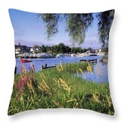 Lough Derg, Ireland Throw Pillow by The Irish Image Collection