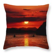 Lough Leane, Killarney, Co Kerry Throw Pillow by The Irish Image Collection