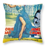 Love Me Or Leave Me Throw Pillow by Georgia Fowler