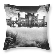 Lowther Castle Throw Pillow by Simon Marsden