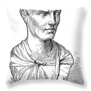 Lucius Licinius Lucullus Throw Pillow by Granger