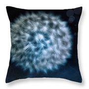 Lullaby For The Moon Throw Pillow by Jutta Maria Pusl