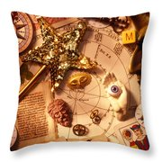Magic and mysticism  Throw Pillow by Garry Gay