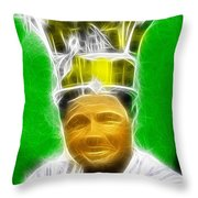 Magical Babe Ruth Throw Pillow by Paul Van Scott