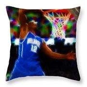 Magical Dwight Howard Throw Pillow by Paul Van Scott