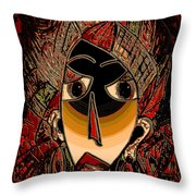Marali Throw Pillow by Natalie Holland