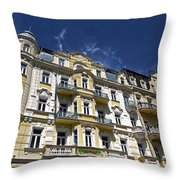 Marianske Lazne ... Throw Pillow by Juergen Weiss