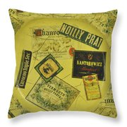 Martini Time Throw Pillow by Bill Cannon