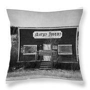 Mary's Rooms Throw Pillow by Priska Wettstein