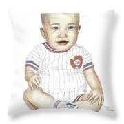 Matthew Throw Pillow by Brian Wallace