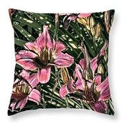 Meadow Sunrise Throw Pillow by Tom Prendergast