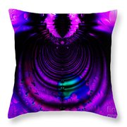 Melting Pot . Horizontal Cut . S8a.S11 Throw Pillow by Wingsdomain Art and Photography