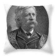 Melville Fuller (1833-1910) Throw Pillow by Granger