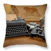Memories Throw Pillow by Rudy Umans
