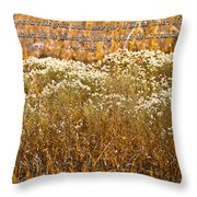Men Are Like Grass Throw Pillow by Carolyn Marshall