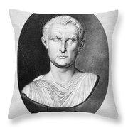 Menander (343-291 B.c.) Throw Pillow by Granger