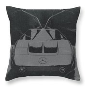 Mercedes Benz C IIi Concept Throw Pillow by Naxart Studio