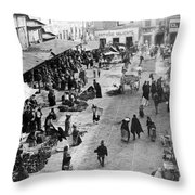 Mexico City - C 1901 Throw Pillow by International  Images