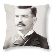 MICHAEL JOSEPH KELLY Throw Pillow by Granger