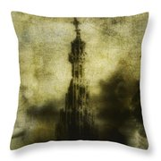Missing Throw Pillow by Andrew Paranavitana