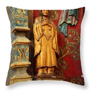 Mission San Xavier Del Bac - Interior Detail II Throw Pillow by Suzanne Gaff