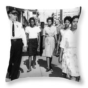 Mississippi: Sit-in, 1963 Throw Pillow by Granger