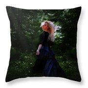 Moonlight Calls Me Throw Pillow by Nikki Marie Smith