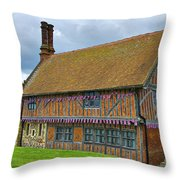 Moot Hall Aldeburgh Throw Pillow by Chris Thaxter