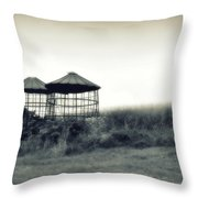 Morning Corn 2 Throw Pillow by Perry Webster