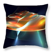 Mothership Throw Pillow by Kim Sy Ok