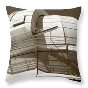 Mount Wilson Observatory Throw Pillow by Lorraine Devon Wilke