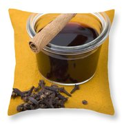 Mulled wine Throw Pillow by Frank Tschakert