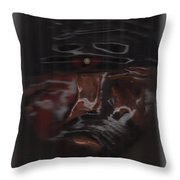 Murder By Jrr Throw Pillow by First Star Art