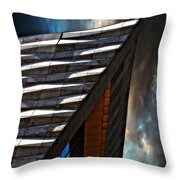 Museum Of Liverpool Throw Pillow by Meirion Matthias