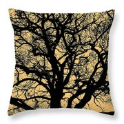 My Friend - The Tree ... Throw Pillow by Juergen Weiss