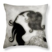My Prince Will Come For Me 3 Throw Pillow by Angelina Vick