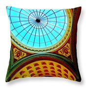 My Vegas Caesars 12 Throw Pillow by Randall Weidner